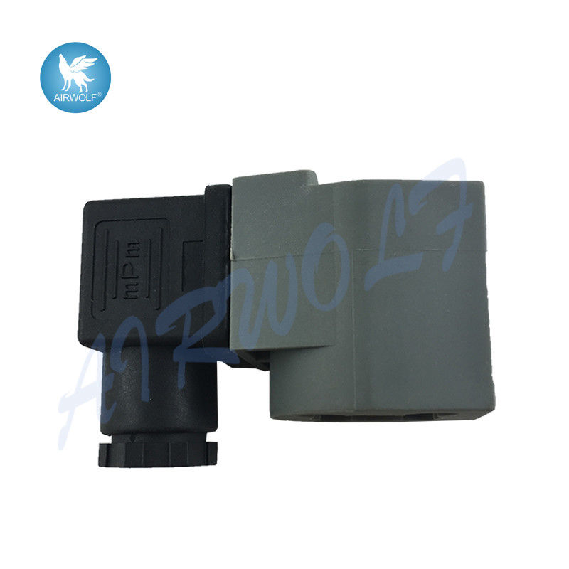 Goyen QR type Electromagnetic Induction Coil , Solenoid coils K301 DIN43650A