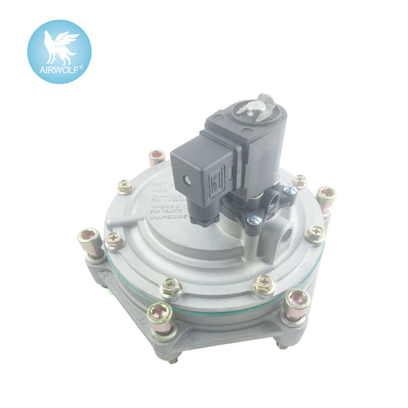 TH-4475-M Submerged Normally Closed Pulse Jet Valves